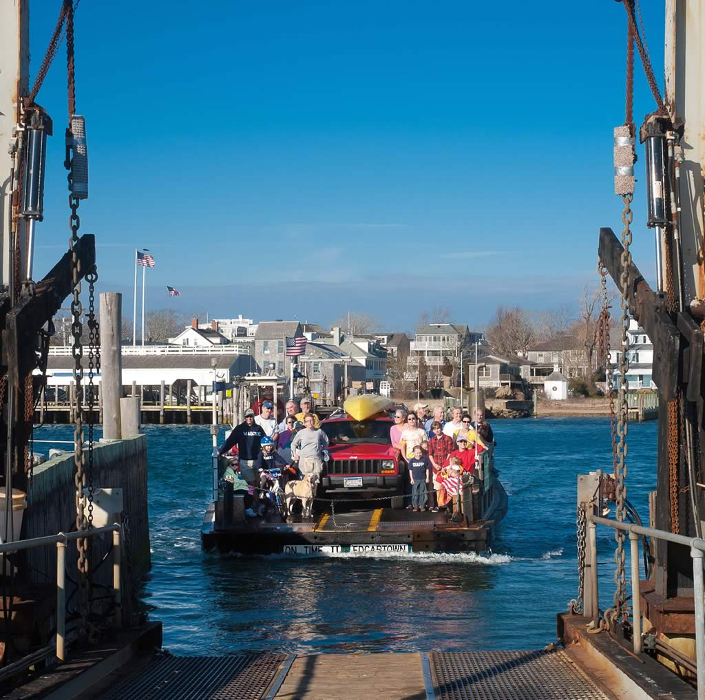 Things To Do In Cape Cod In July: The Chappy Ferry Martha's Vineyard