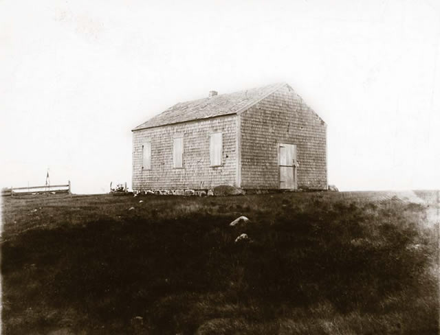 Meetinghouse, Sampson's Hill, circa 1886