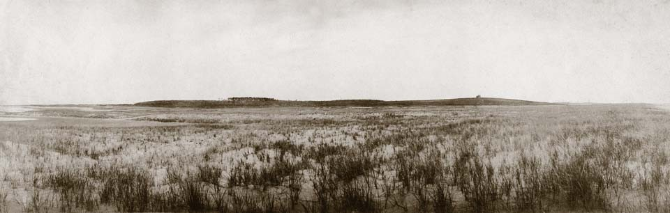 View northwest from Wasque Point, circa 1890